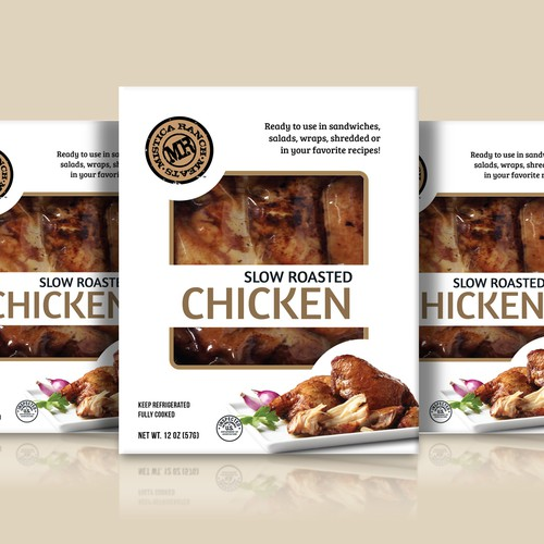 Chicken packaging with the title 'Box with window'