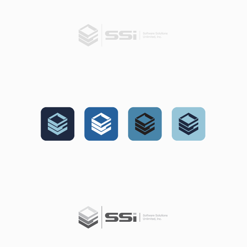 Transportation logo with the title 'Logo for SSI'