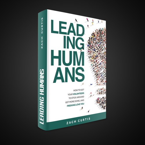 Title design with the title 'Leading Humans'