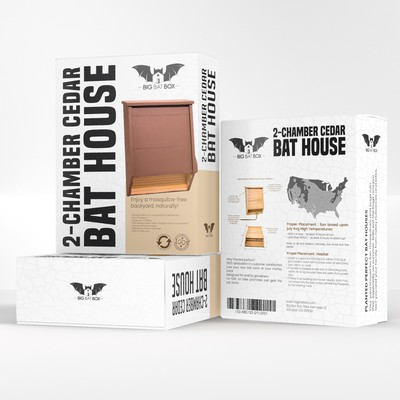 Have fun Designing packaging for a Bat House