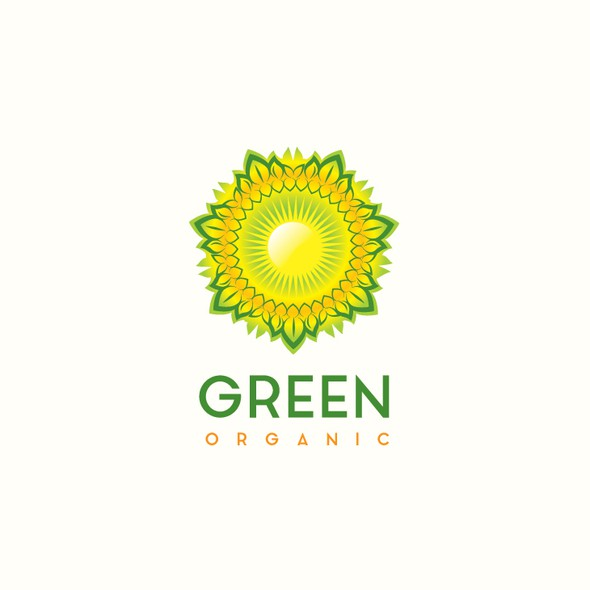 Leaf packaging with the title 'Green Organic Company'