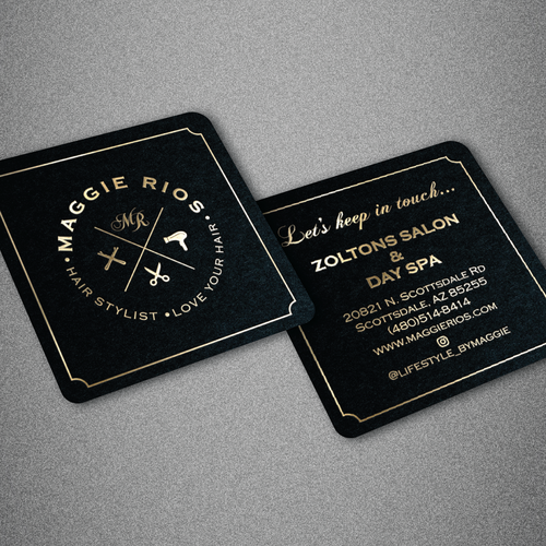 Classy design with the title 'Custom Business Card design'