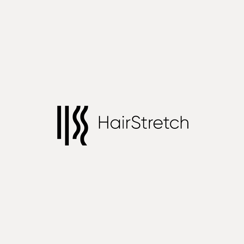 Hair logo with the title 'Logo design contest entry'