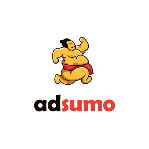 Advertising logo with the title 'AdSumo, the culmination of size and speed.'