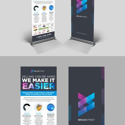 2海报:弹出式(Pop-Up)代表一家小型科技公司