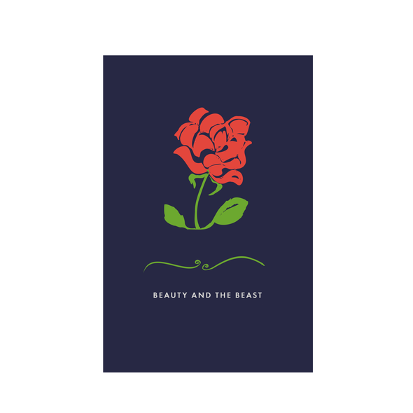 Rose book cover with the title 'Book Cover'