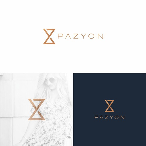 Lifestyle design with the title 'PAZYON'