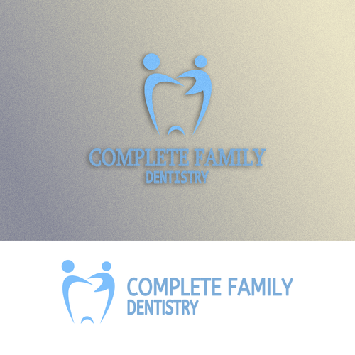 Wedding invitiation logo with the title 'Dental Family'