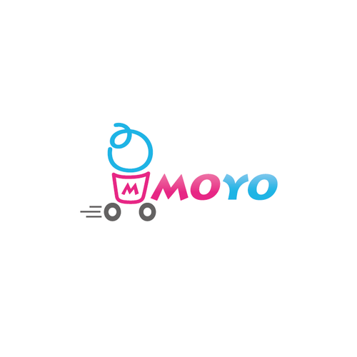 Cheerful logo with the title 'Yogurt in motion'