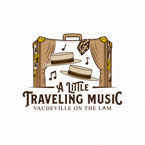 Dance logo with the title 'A Little Traveling Music'