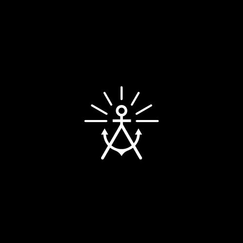 Anchor logo with the title 'A + anchor + sun'
