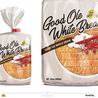 Bread packaging design