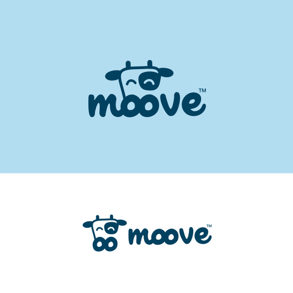 Moo logo with the title 'Moove'