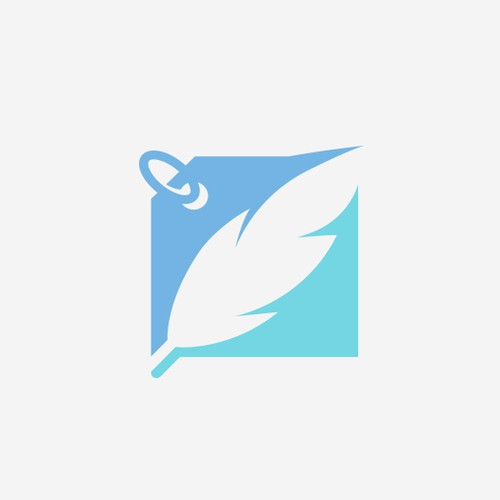 Eagle feather logo with the title 'Light Prices - Feather'