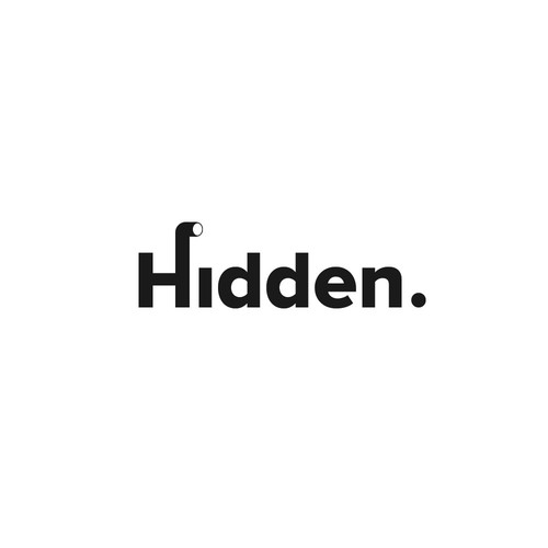 Look logo with the title 'Hidden - recruitment company'
