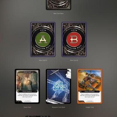 Brass Empire TCG/Card Game Template