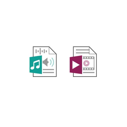 PDF design with the title 'File Extension Icon'