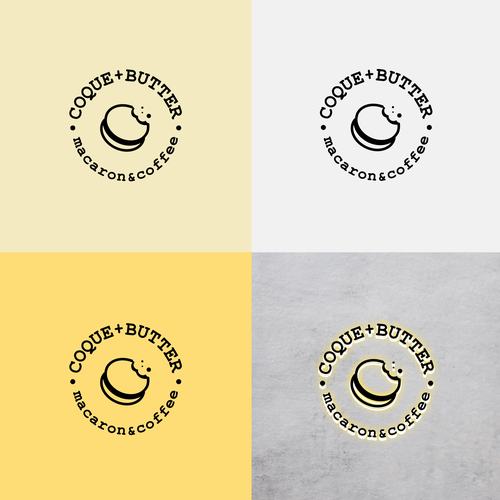 Butter logo with the title 'COQUE+BUTTER'