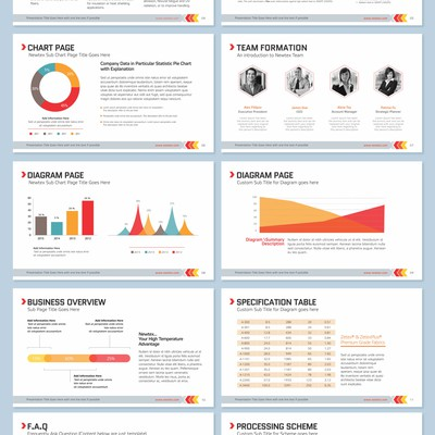 Newtex Powerpoint Template