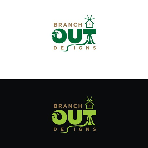 Decorative brand with the title 'Creative logo for Home Furnishing'