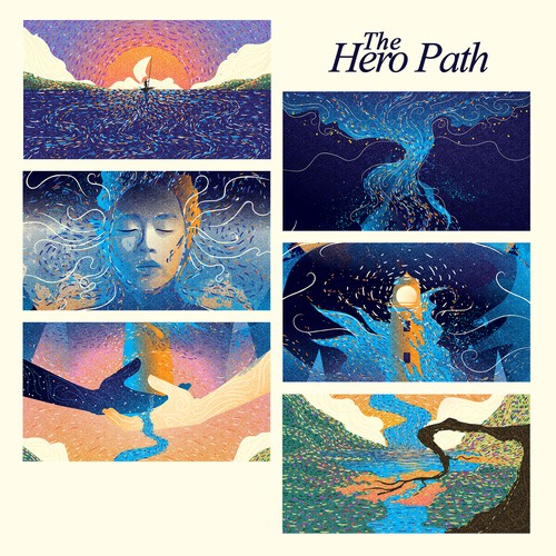 Hero illustration with the title 'The Hero Path'
