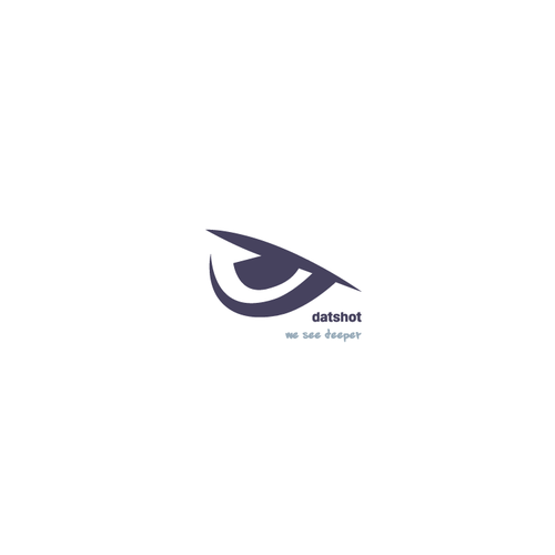 Simple brand with the title 'Minimalistic yet bold logo'