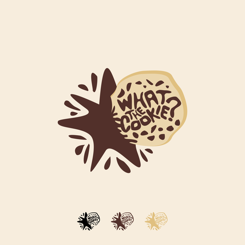 Illustrator design with the title 'What the Cookie?'