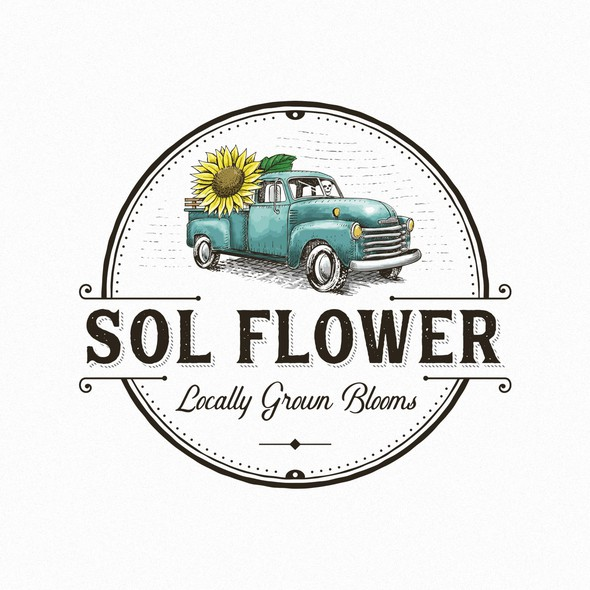 Old brand with the title 'Sol Flower '