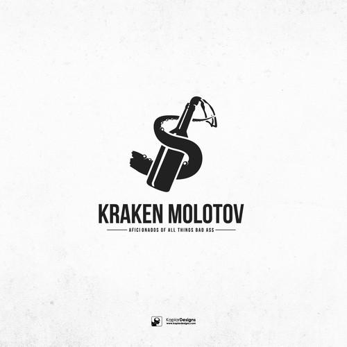Danger logo with the title 'Kraken Molotov'