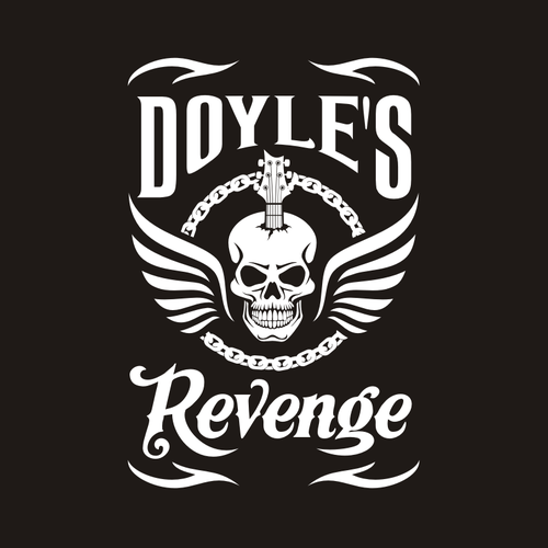 Band logo with the title 'Band logo for Doyle's Revenge'