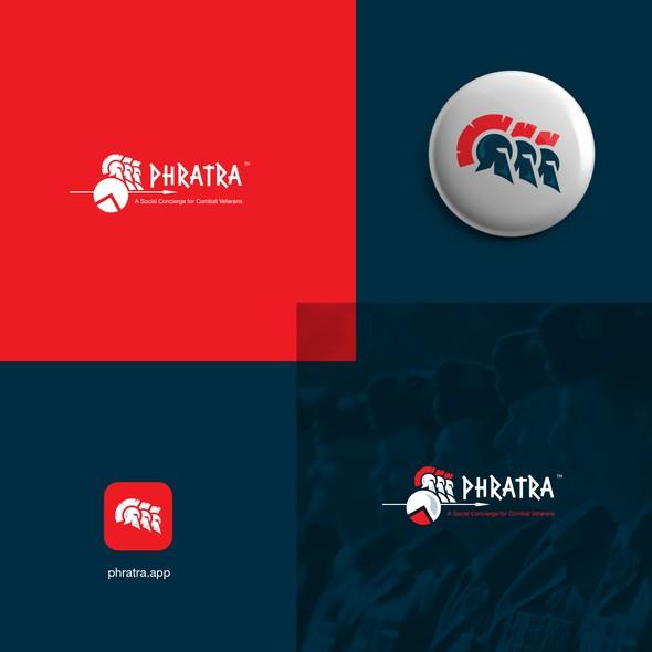 Spartan brand with the title 'Spartan logo design'