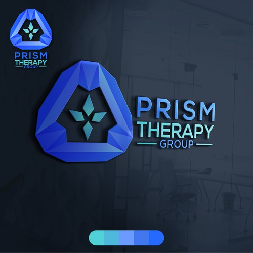 Prism logo with the title 'Concept for Mind Therapy'