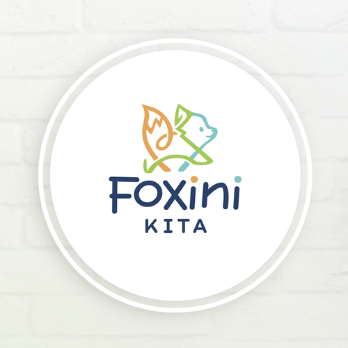 Fox brand with the title 'Childcare Center Foxini'