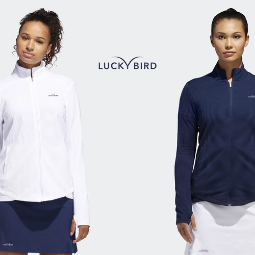 Clothing logo with the title 'LUCKY BIRD'