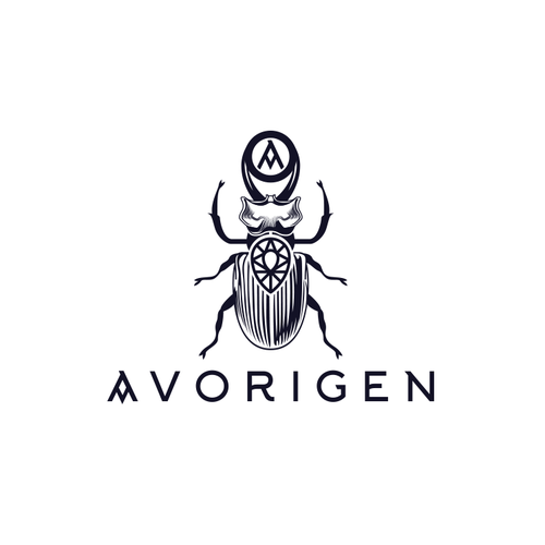 Bug design with the title 'Jewlery Logo'