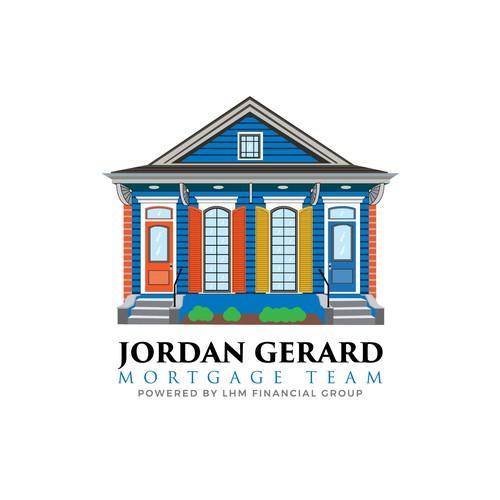 Casa design with the title 'JORDAN GERARD'