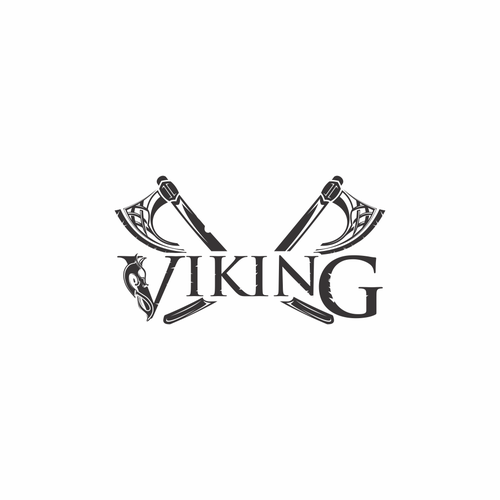 Axe logo with the title 'Viking'
