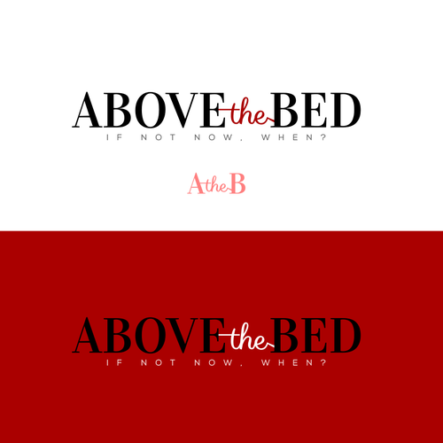 Bed logo with the title 'Classic logo for a boudoir photography company'