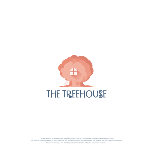 Tree house design with the title 'The Treehouse'