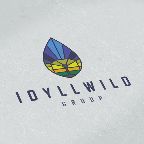 Park design with the title 'Logo for Idyllwild Group'