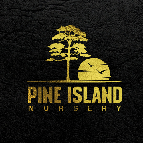 Nursery logo with the title 'Pine'