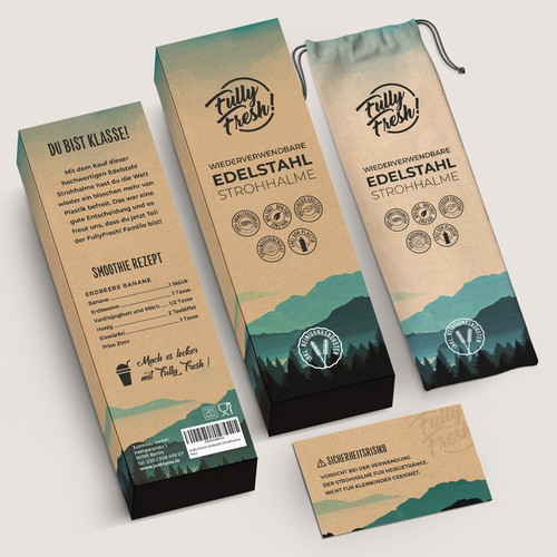 Best packaging with the title 'package and Logo design'