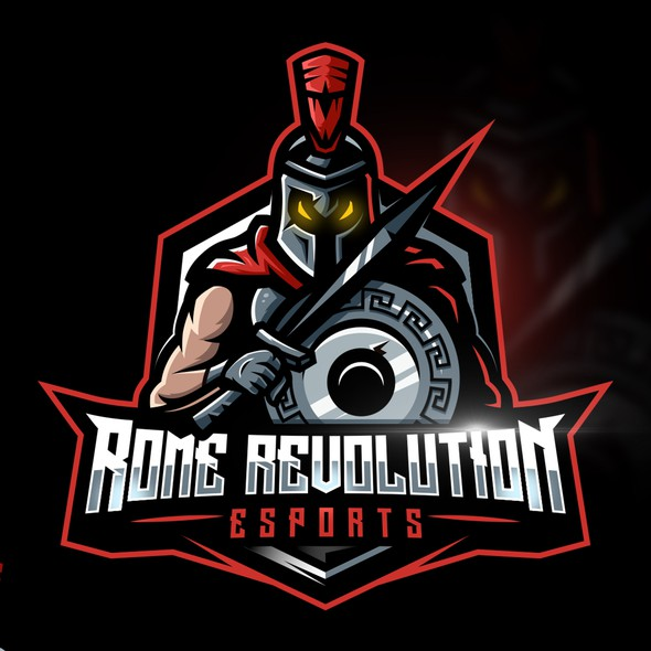Revolution logo with the title 'Rome Revolution eSports'