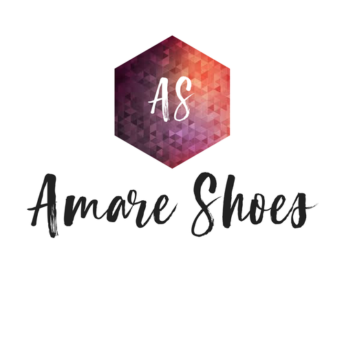 Shoe logo with the title 'logo design for shoe brand'