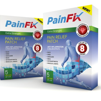 Pain Fix Patch box
