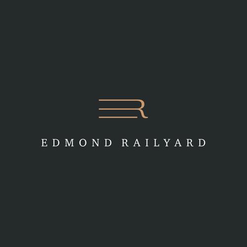 Train design with the title 'Edmond Railyard'