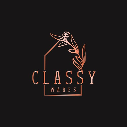 Kitchenware logo with the title 'Classic Logo Concept for Home-ware Products Store'