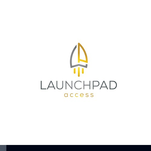 Initial logo with the title 'LAUNCHPAD Access'