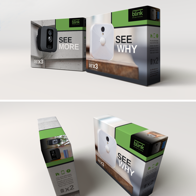 Camera Retail Packaging Design