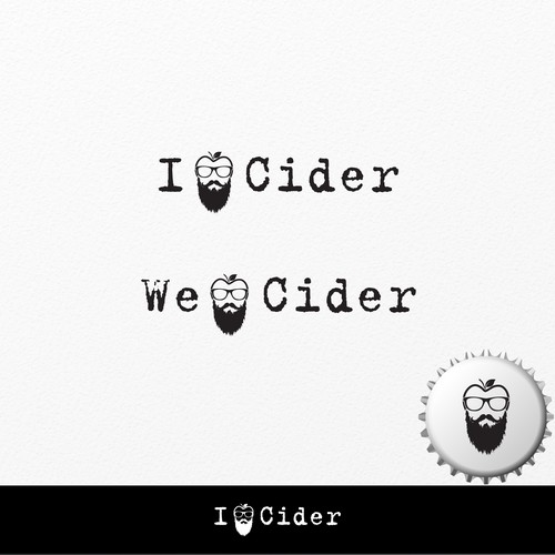 Alcohol artwork with the title 'I Love Cider'